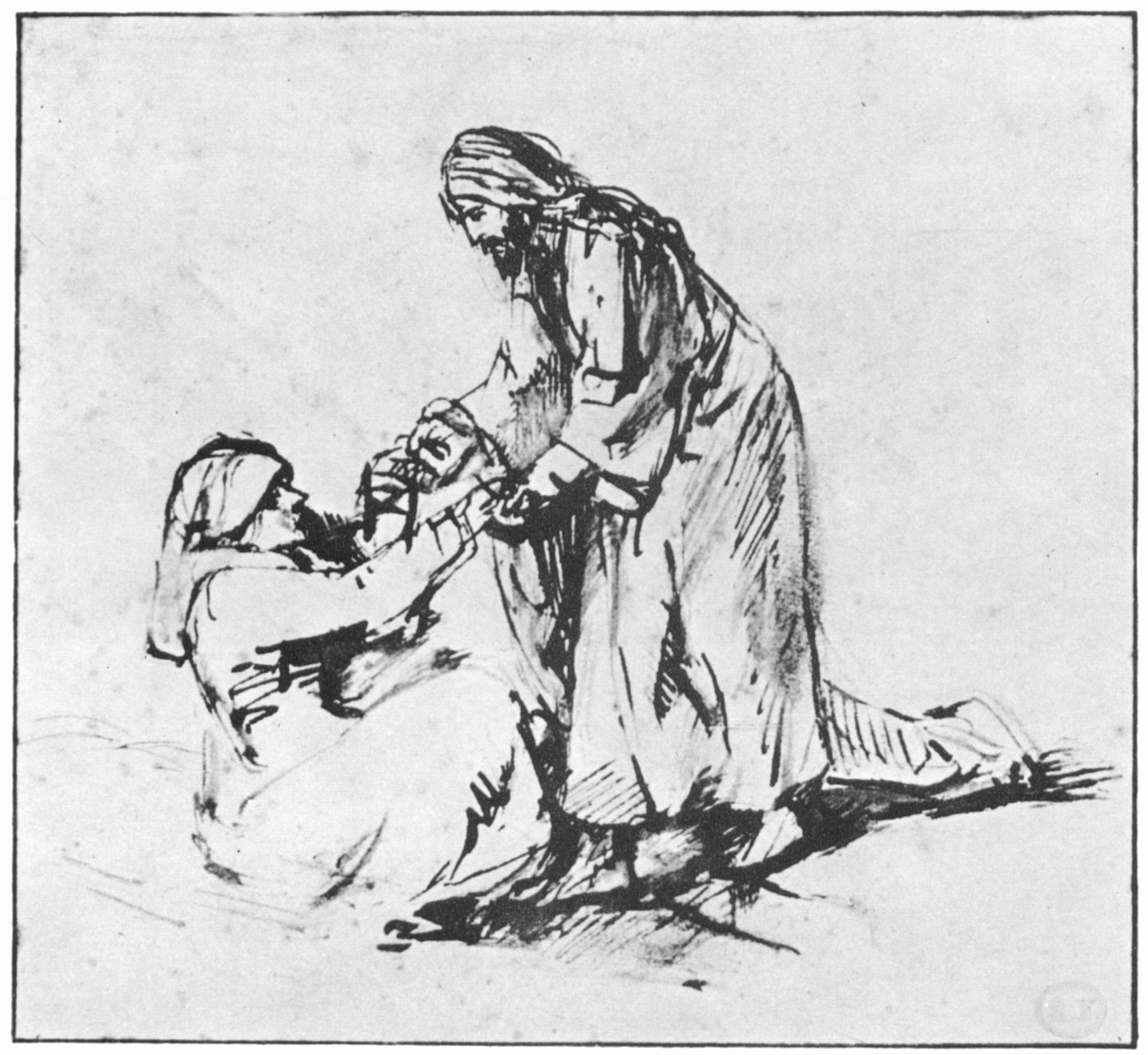 rembrandt-1660-healing-of-mother-in-law