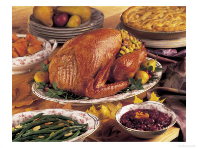 306610-Thanksgiving-Dinner-with-Turkey-and-Pie-Posters